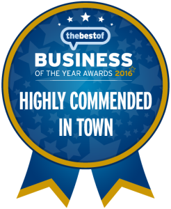BOYA - Badges - Highly Commended in Town